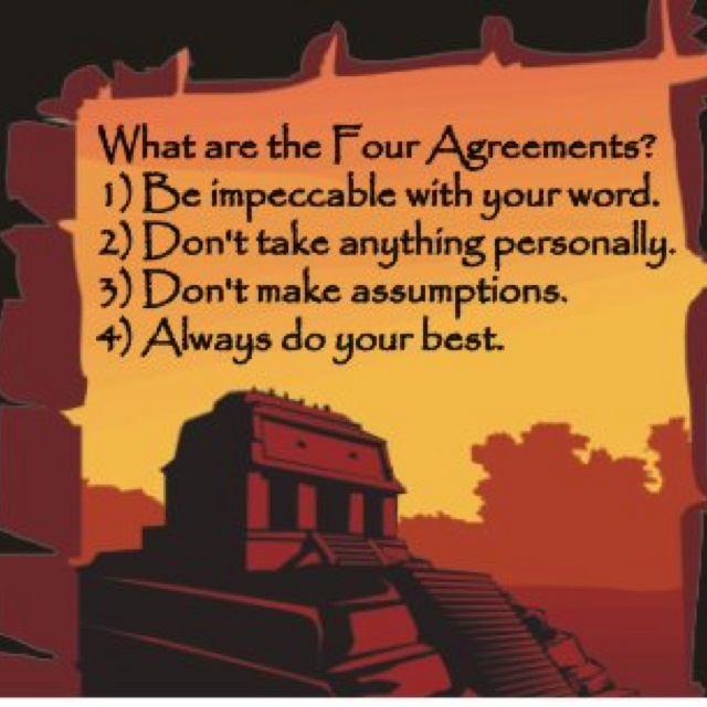 The 12 Best Images About The Four Agreements On Pinterest Change