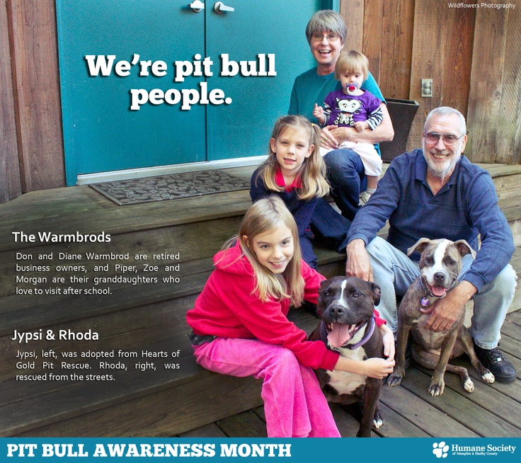 """We're Pit Bull People"" campaign by the Humane Society of Memphis & Shelby County  www.memphishumane.org"