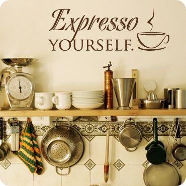 Expresso Yourself (Stylized Version). Diy NetworkHome ImprovementCoffee  Kitchen ThemesKitchen IdeasSmall ...