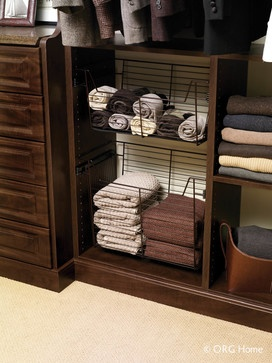 ORG Home Closet Organization Systems - eclectic - closet organizers - columbus - Home Source Custom Draperies & Blinds