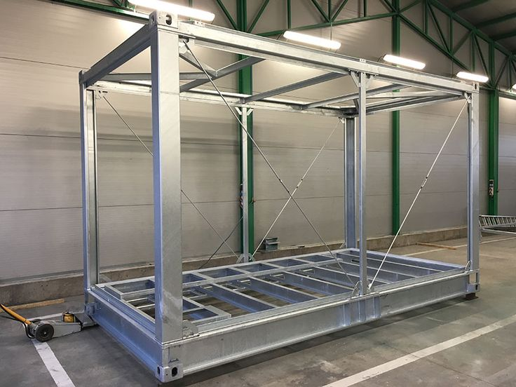 Popular Panel container Panel container hot dip galvanised version pliant with fire protection regulations as required etc