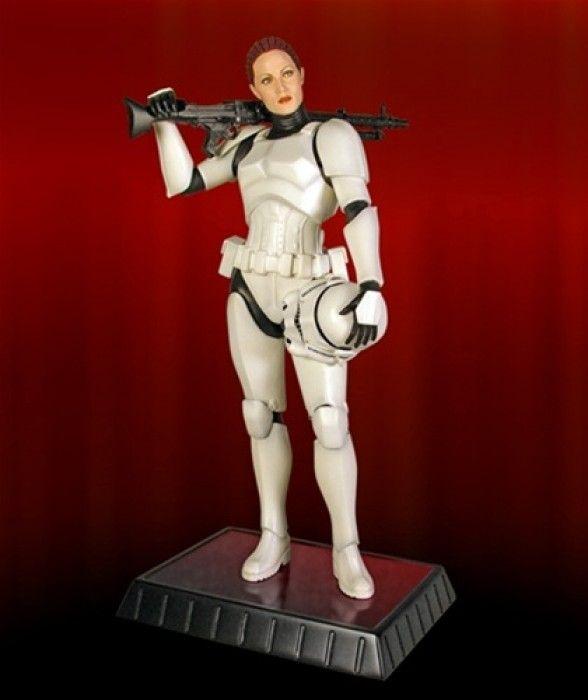 Female Stormtrooper Statue