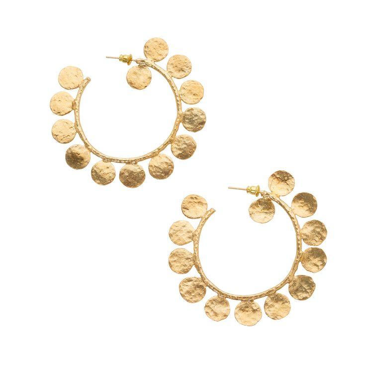 Ligo Earrings Gold