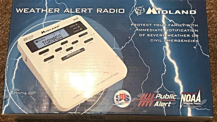 Midland All Hazards Alert Weather Radio (Model: WR-100)NOAA #Midland