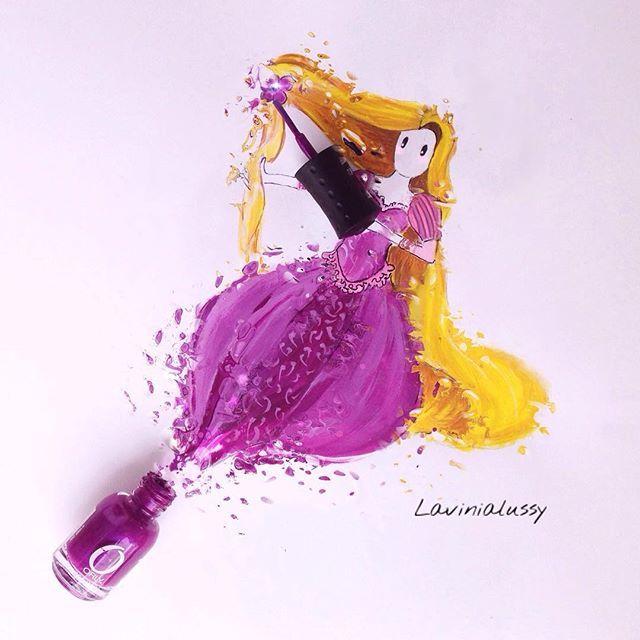 ✨Never Stop Dreaming✨ -Rapunzel ✨ ✨✨✨✨✨✨ #rapunzel #art #illustration…