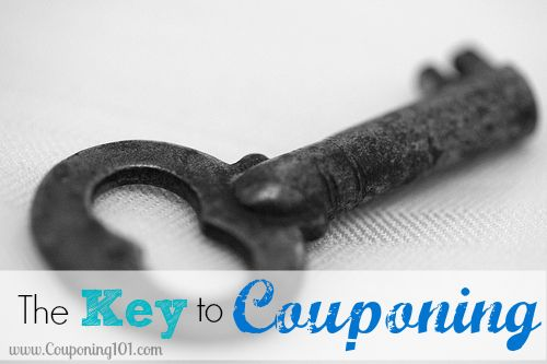 The key to couponing. Yes, it really is this simple!!