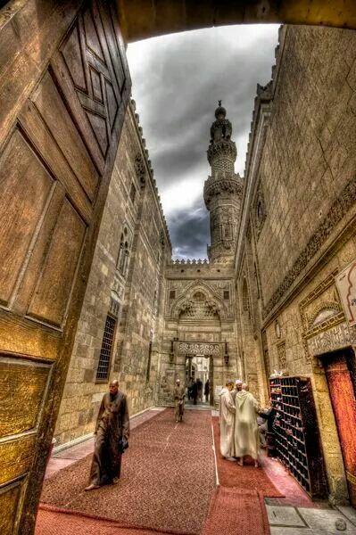 Al-Azhar mosque in Old Cairo