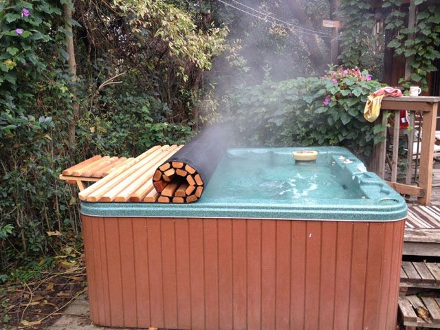 Hot Tub Cover Diy Hot Tub Cover