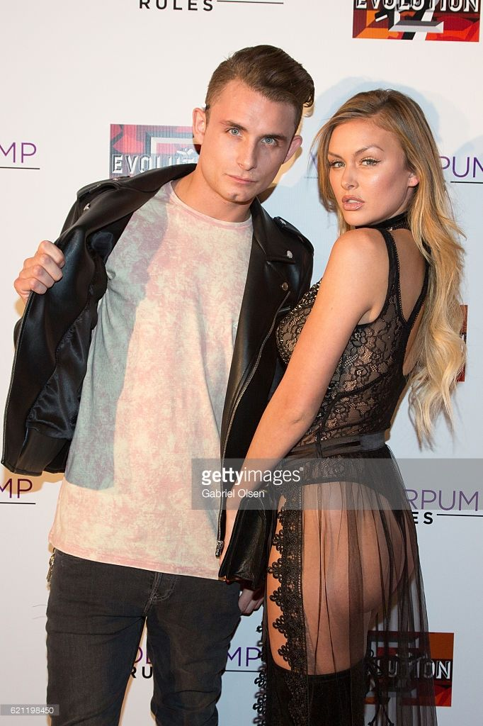 James Kennedy (L) and Lala Kent attend the 'Vanderpump Rules' Season 5 Premiere Party at HYDE Sunset: Kitchen + Cocktails on November 4, 2016 in West Hollywood, California.