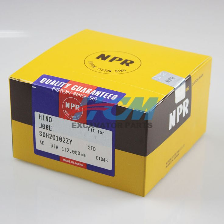 Engine: J08E  Part Name: Piston Ring Part No.: SDH20102ZX  Size: DIA 112mm STD