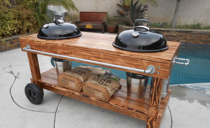 128 Best Kamado Grill Tables And Outdoor Kitchen Ideas