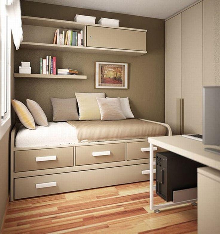 25 ide terbaik desain kamar tidur di pinterest kamar impian ide kamar tidur dan kamar tidur - Best interior paint colors for small spaces minimalist ...