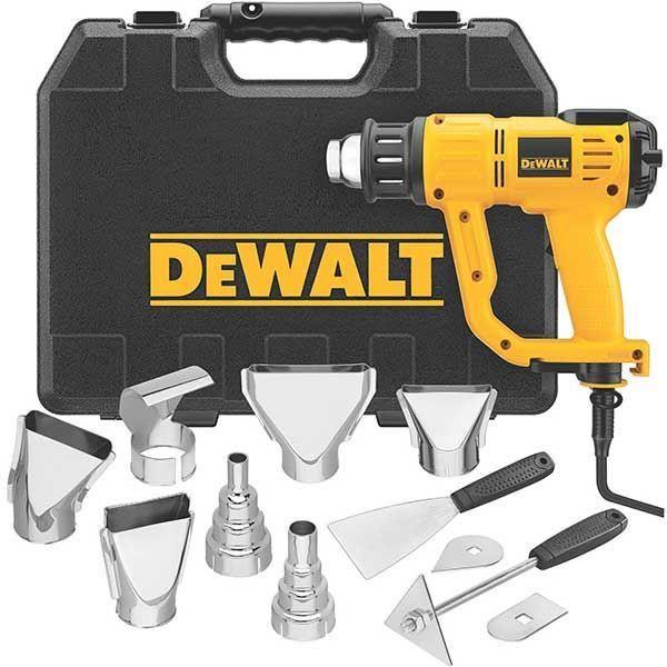 Buy DeWalt Heat Gun Kit with LCD display, Model D26960K at Woodcraft.com