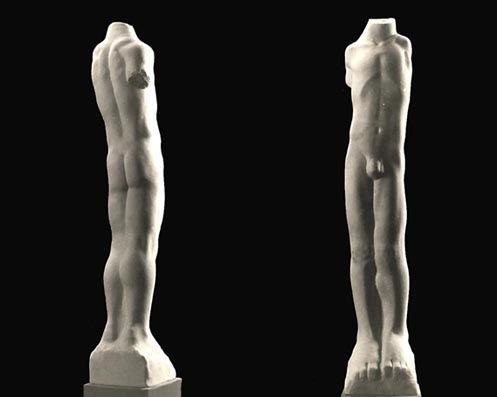 Growing youth 1992, marmo statuario, Caroline Van Der Merwe http://musapietrasanta.it/content.php?menu=artisti