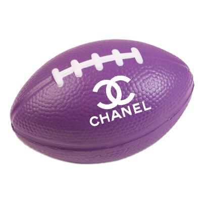 Purple CHANEL FOOTBALL