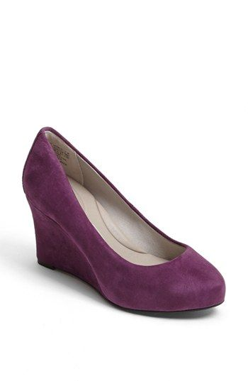 Purple and Gray too! Love my gray suede wedges!