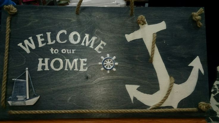 Welcome to our home, nautical