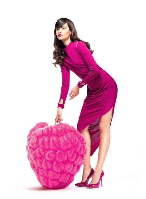'Vitamin C'Andrea Ojdanic By Chris Singer For Madonna Magazine, February2013
