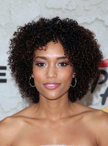 short curly afro ideas