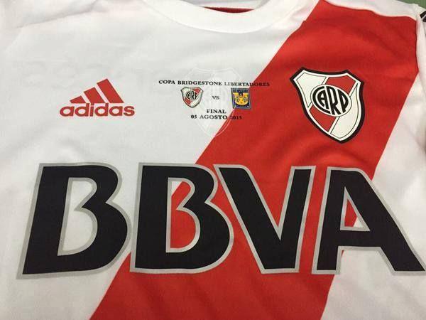 Camiseta River Plate Final Copa Libertadores 2015 vs Tigres