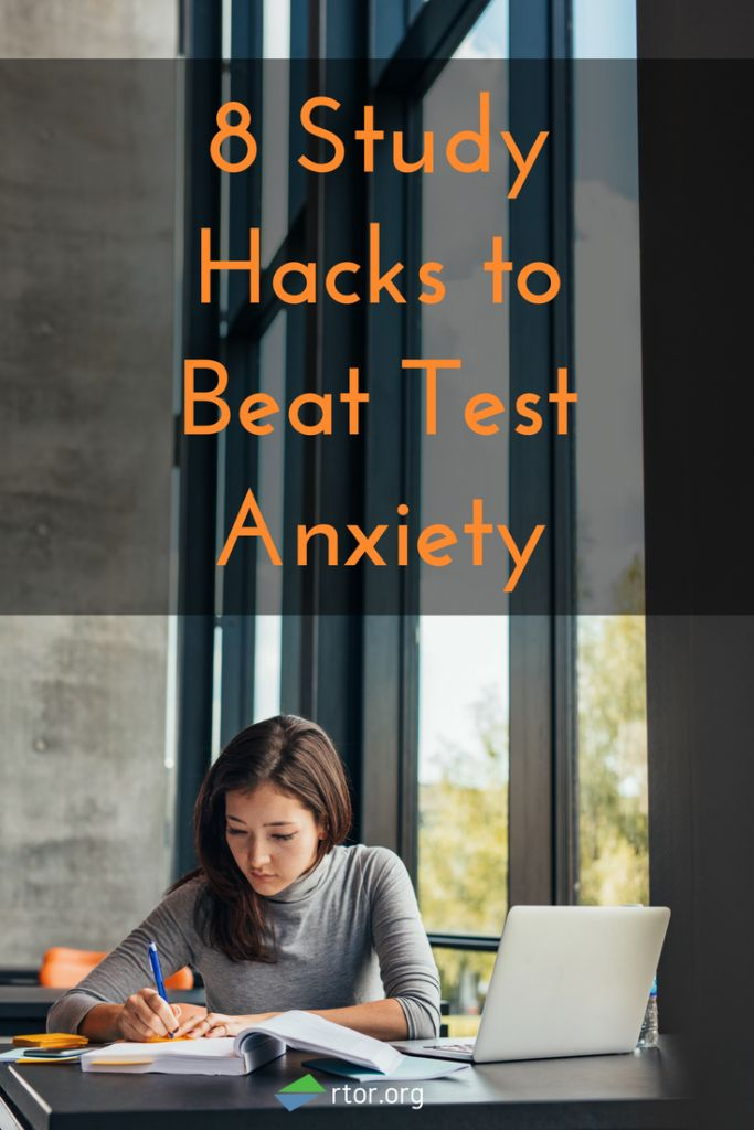8 Study Hacks to Beat Test Anxiety. Super helpful article for finals!