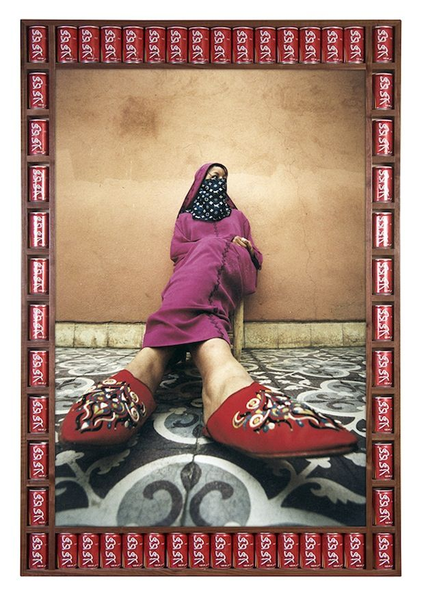 Twisted Babouche by Hassan Hajjaj