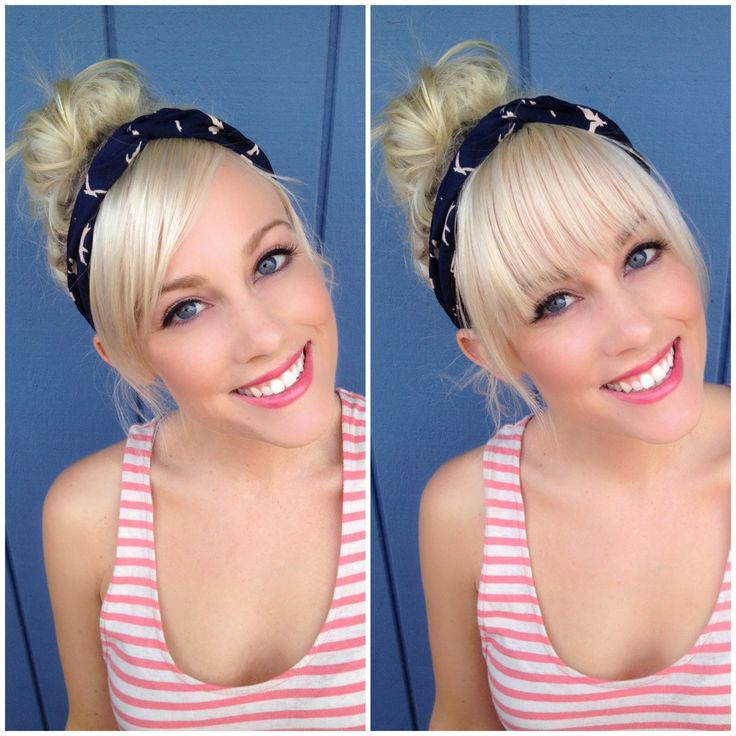 Cute Ways To Wear Hair Up With Bangs: Best 25+ Straight Across Bangs Ideas On Pinterest