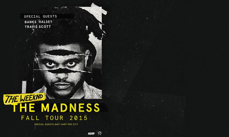 """Win Tickets to The Weeknd """"The Madness Fall Tour"""" @ Madison Square Garden - http://orsvp.com/win-tickets-to-the-weeknd-the-madness-fall-tour-madison-square-garden/"""