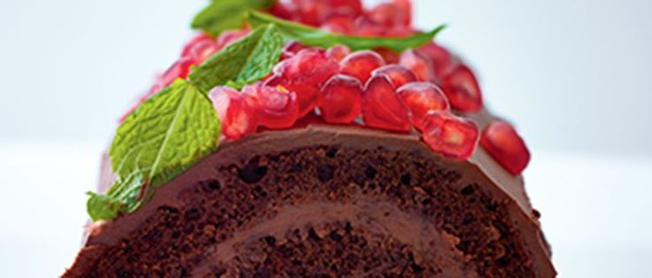Chocolate Log by Lorraine Pascale