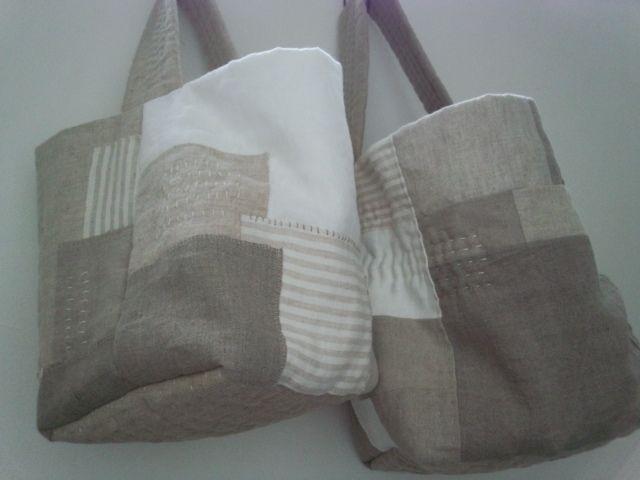 stitched bag