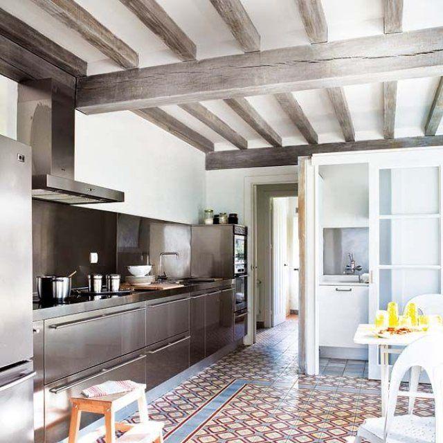 Inspirations pinterest carreaux de ciment home for Coller carrelage avec ciment