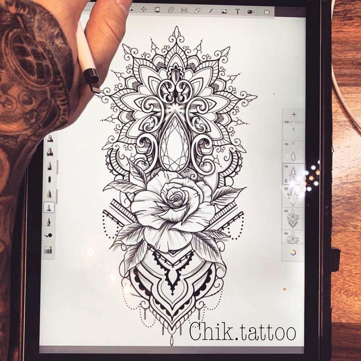 Instagram-Beitrag von Chik.tattoo ⚓️ • Okt 3, 2018 um 11:00 UTC