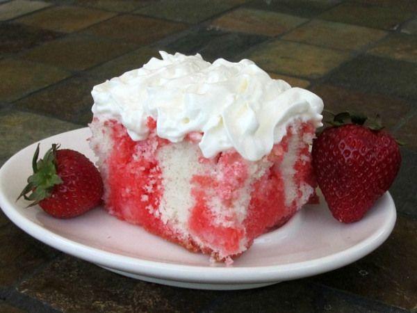 JELL-O POKE CAKE | Sweets! | Pinterest