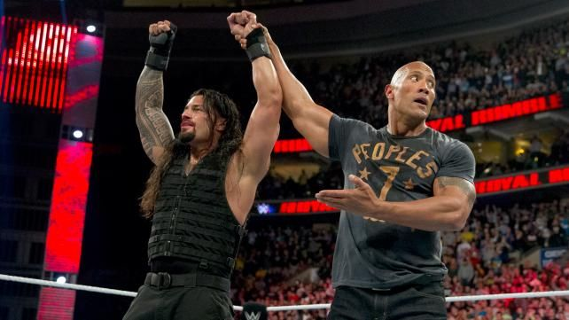 WWE Planning The Rock to Be In Roman Reigns' Corner vs. Triple H at Wrestlemania 32