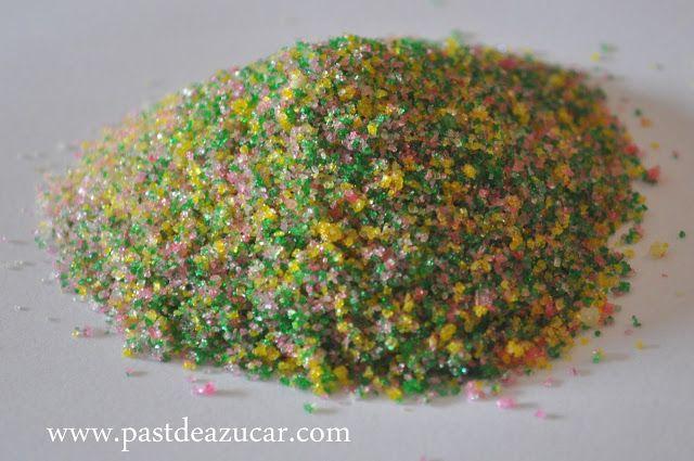 Pasta de Azucar: Azúcar brillante.