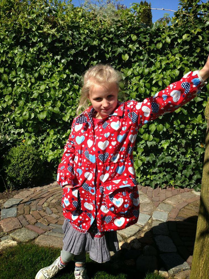 Wat ik (mee) maak... Butterfly Camouflage jas Ottobre 1/2012