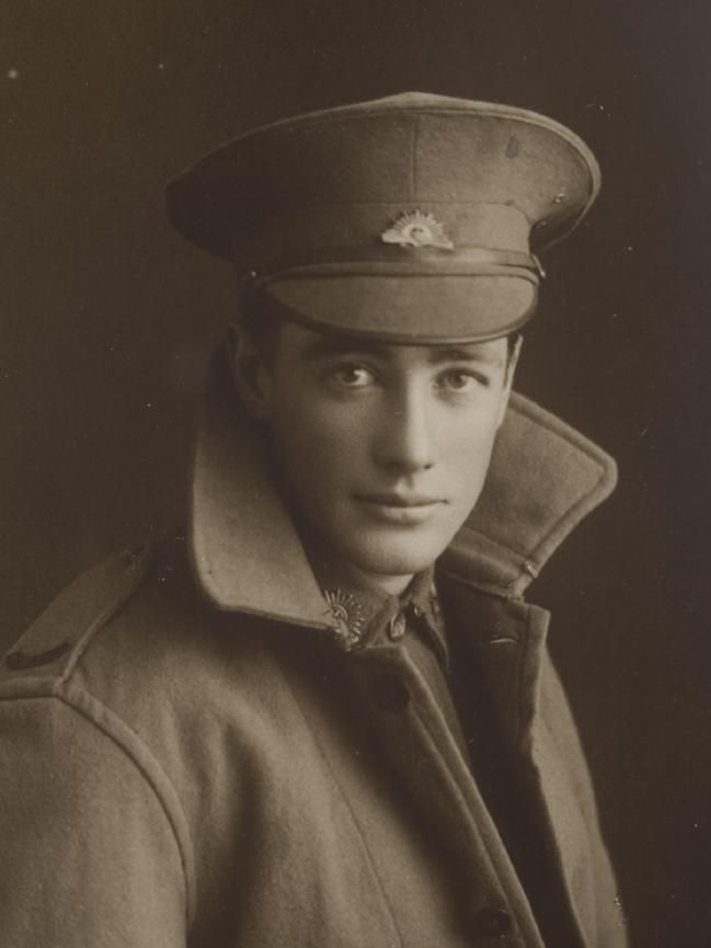 Bowlers and High Collars — Australian WW1 soldier, Reginald Gardiner. 1918.  ...