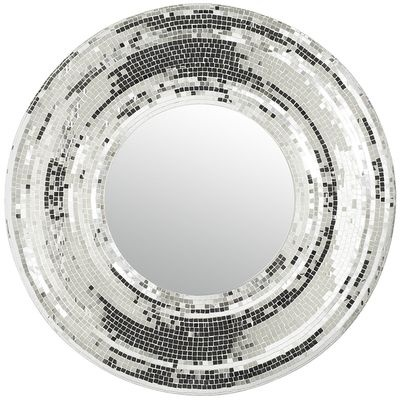 Bezel Mirror - Glitter on the wall. Brilliant, diamond-like sparkle from hundreds of tiny glass squares - Wicked dazzling! from Pier One