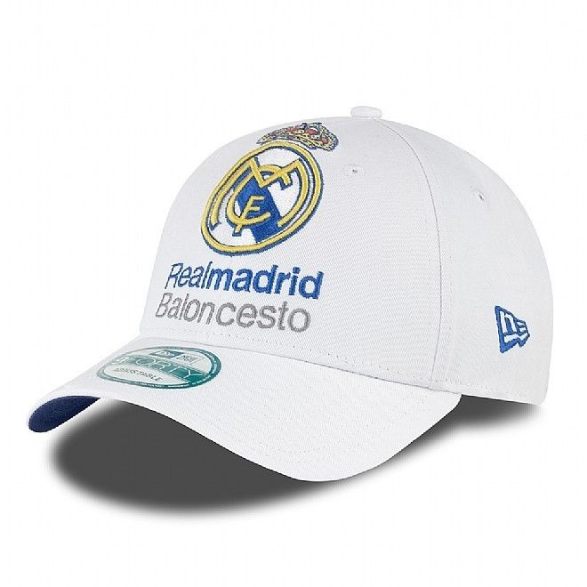 """Gorra Euroliga New Era """"Real Madrid"""" 9FORTY http://www.basketspirit.com/epages/268403.sf/es_ES/?ObjectID=4853198&ViewAction=FacetedSearchProducts&SearchString=new+era"""