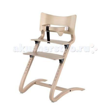 Leander высокий  — 23024р. -------------------------------------  Стульчик для кормления Leander высокий  За обеденным столом дети хотят чувствовать себя частью семьи, но они также хотят свободно двигаться.  Слегка пружинящая конструкция и хорошая приспособляемость стульчика Leander к росту ребенка обеспечивают естественное чувство подвижности и в совокупности создают идеальный высокий детский стульчик.  Мягкий округлый дизайн стульчика также виден в спинке и предохранительной перекладине…