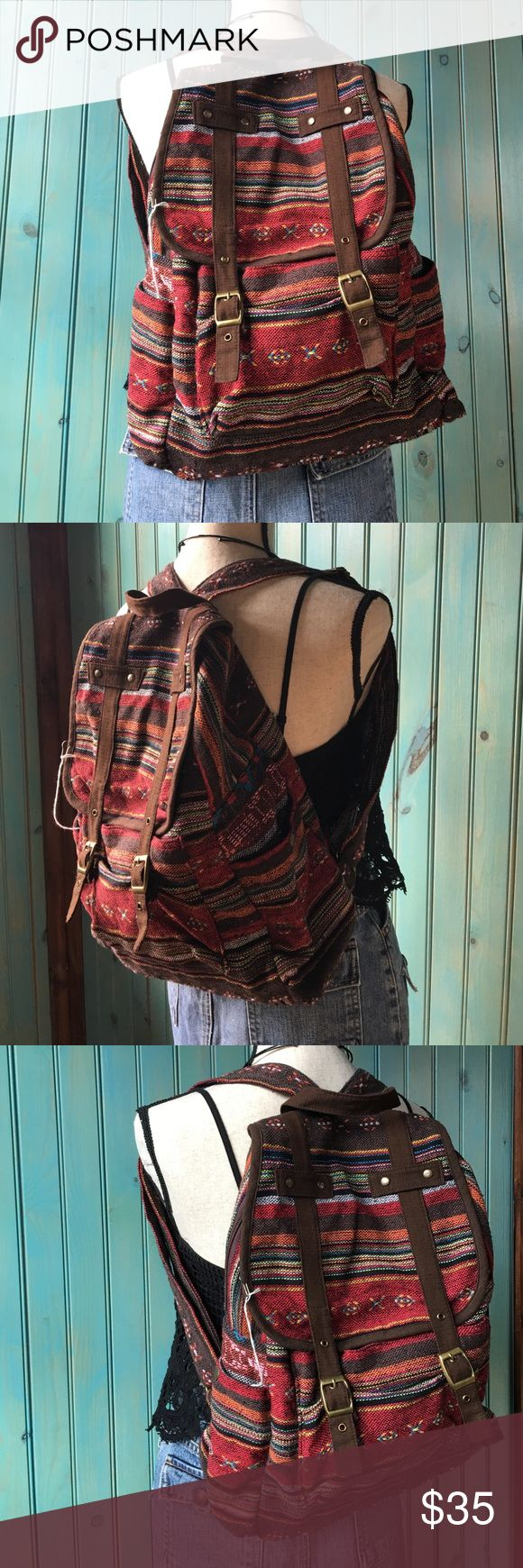 Hmong backpack Unique backpack good for gift  Bags Backpacks
