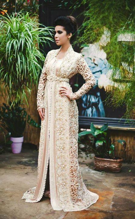 Pastel Caftan. Moroccan Dress