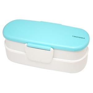 Bento-Box Double Slim Light Blue