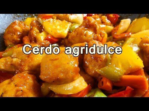 CERDO AGRIDULCE CHINO - Recetas de cocina y comidas rapidas y faciles de hacer