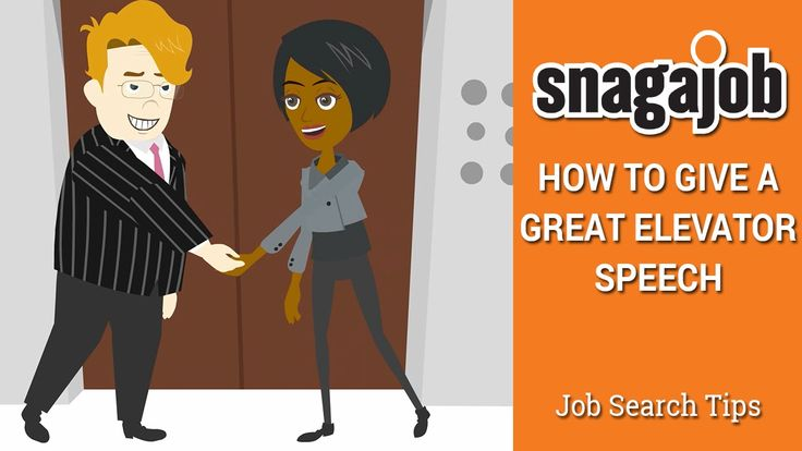A short video on the good and the bad of elevator speeches - elevator speech examples