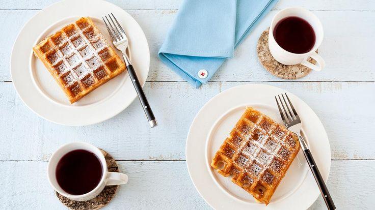 3 Glutenvrije baksels: pannenkoeken, oliebollen en wafels   VTM Koken