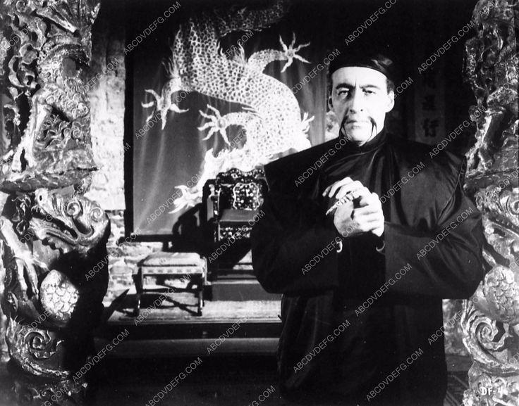 photo Christopher Lee film Fu Manchu 1733-32