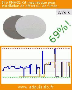 Elro RMAG2 Kit magnétique pour installation de détecteur de fumée (Outils et accessoires). Réduction de 69%! Prix actuel 2,76 €, l'ancien prix était de 8,85 €. http://www.adquisitio.fr/elro/rmag2-kit-magn%C3%A9tique