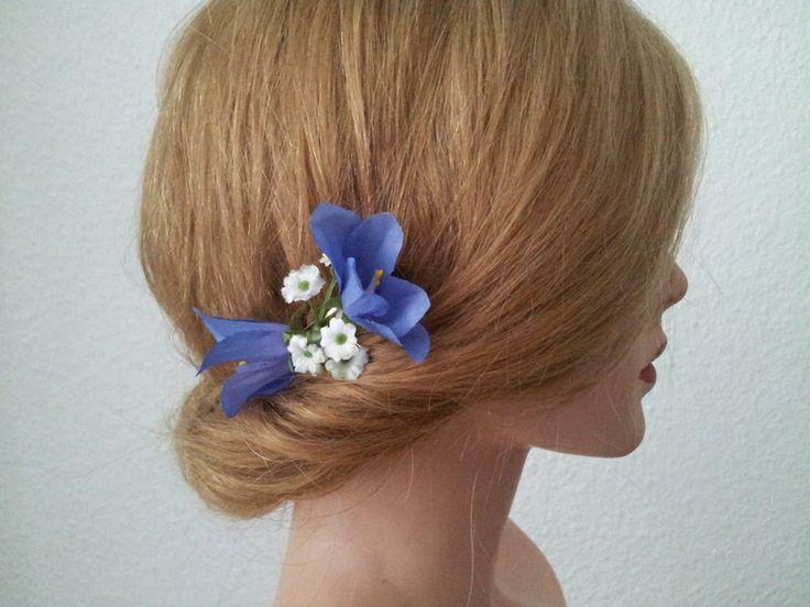 Haarblüten,Blütenclips,Blumenspange,Blumenclips von TatjanaRichartz Friseurmeister&Maskenbildnerin auf DaWanda.com