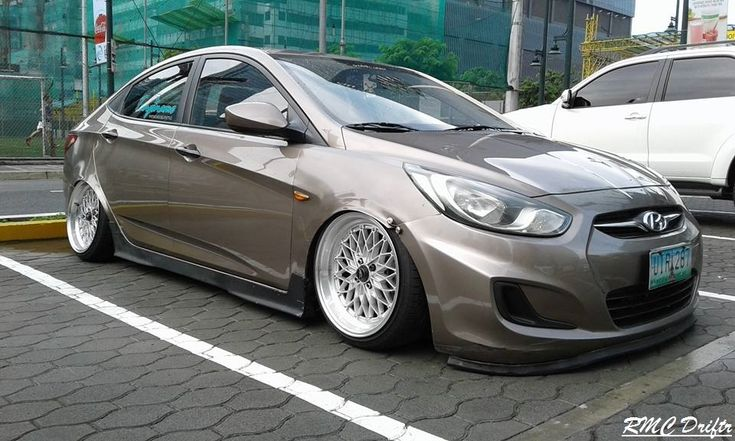 Low Hyundai Accent by RMCDriftr